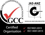 ISO9001・ISO14001取得