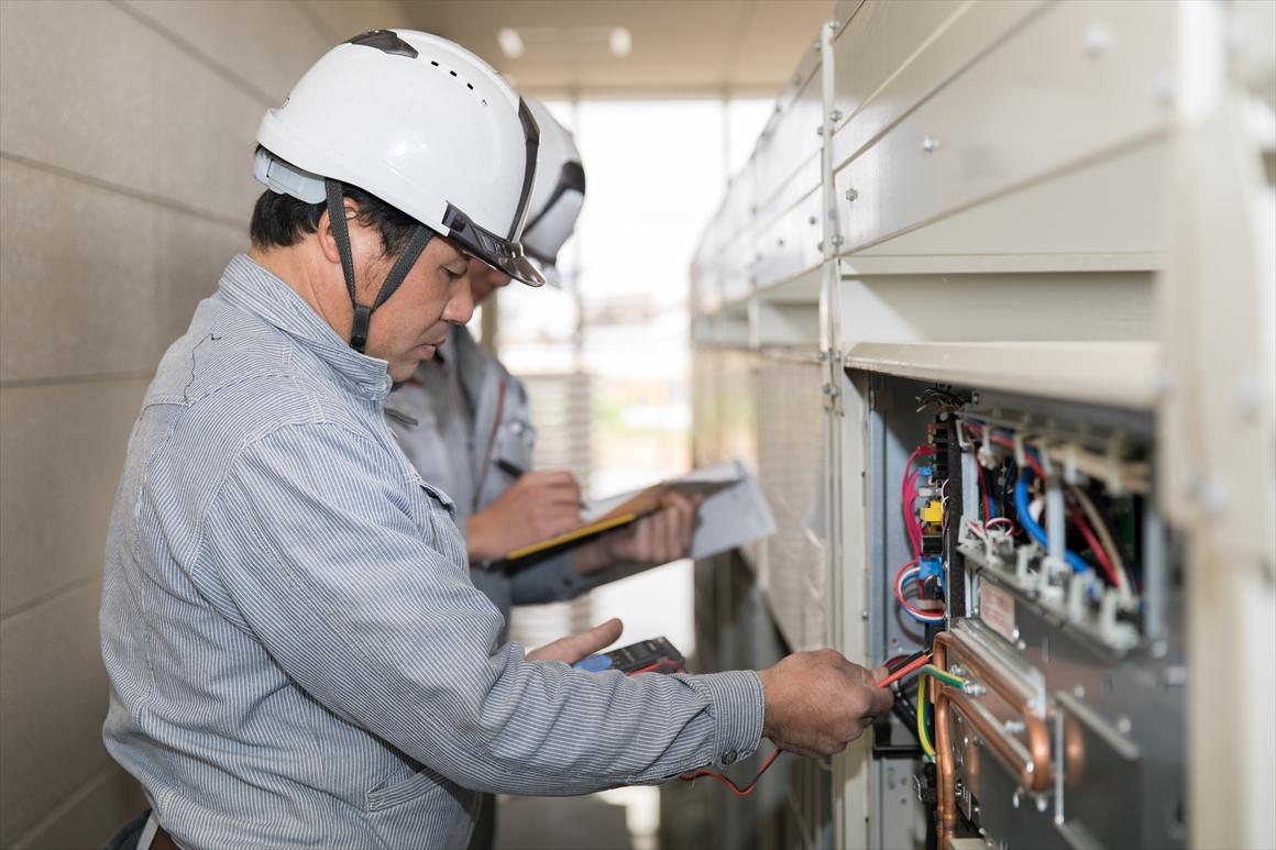 彦根翔西館高等学校 空調設備整備およびサービス提供 画像05