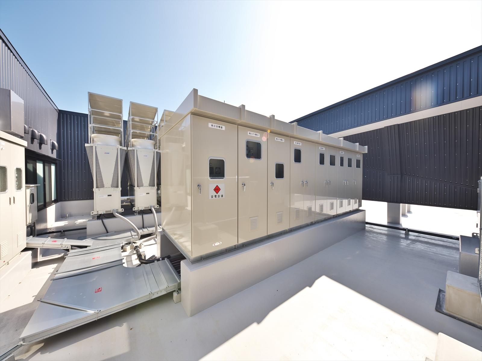 長浜市産業文化交流拠点施設整備工事(電気設備工事) 画像04