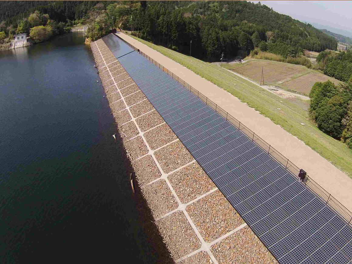 大原貯水池地区太陽光発電施設整備工事 画像02