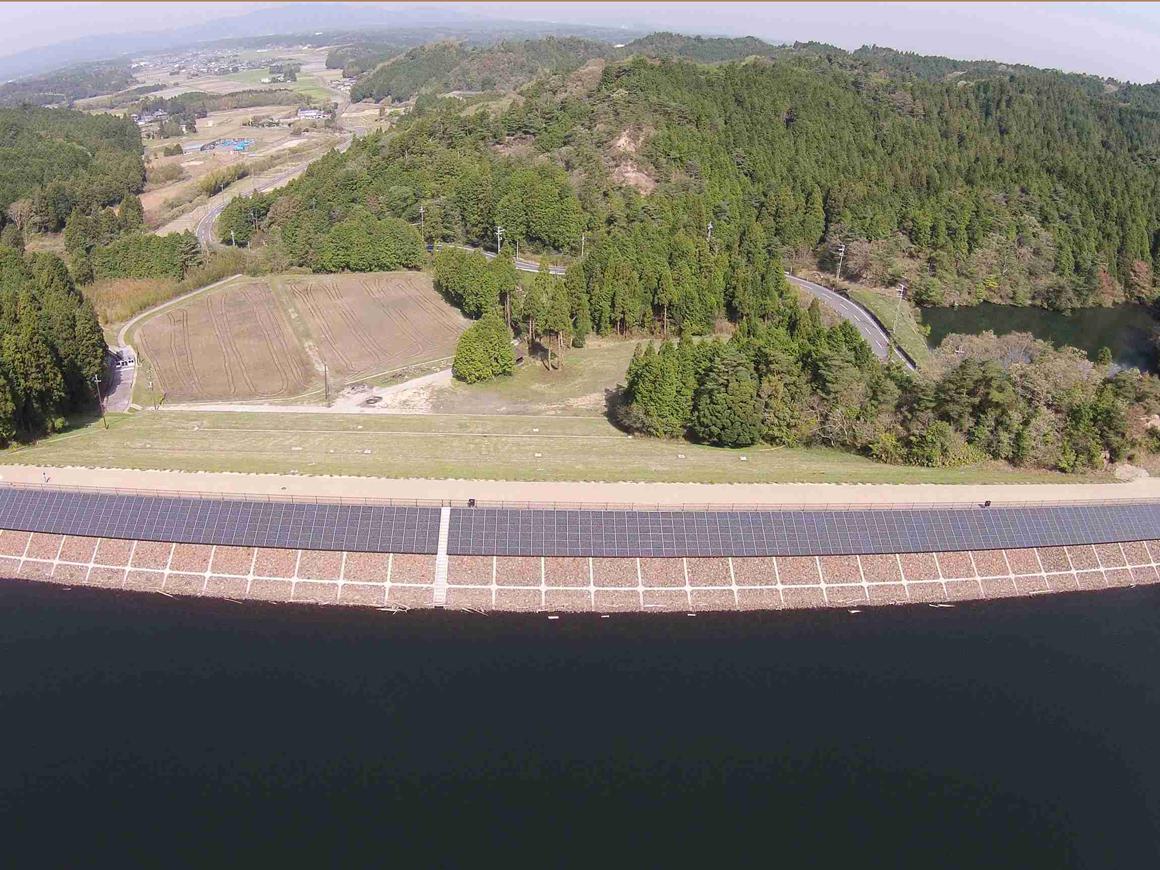 大原貯水池地区太陽光発電施設整備工事 画像01