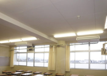 彦根翔西館高等学校 空調設備整備およびサービス提供