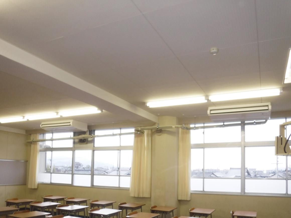 彦根翔西館高等学校 空調設備整備およびサービス提供 画像01
