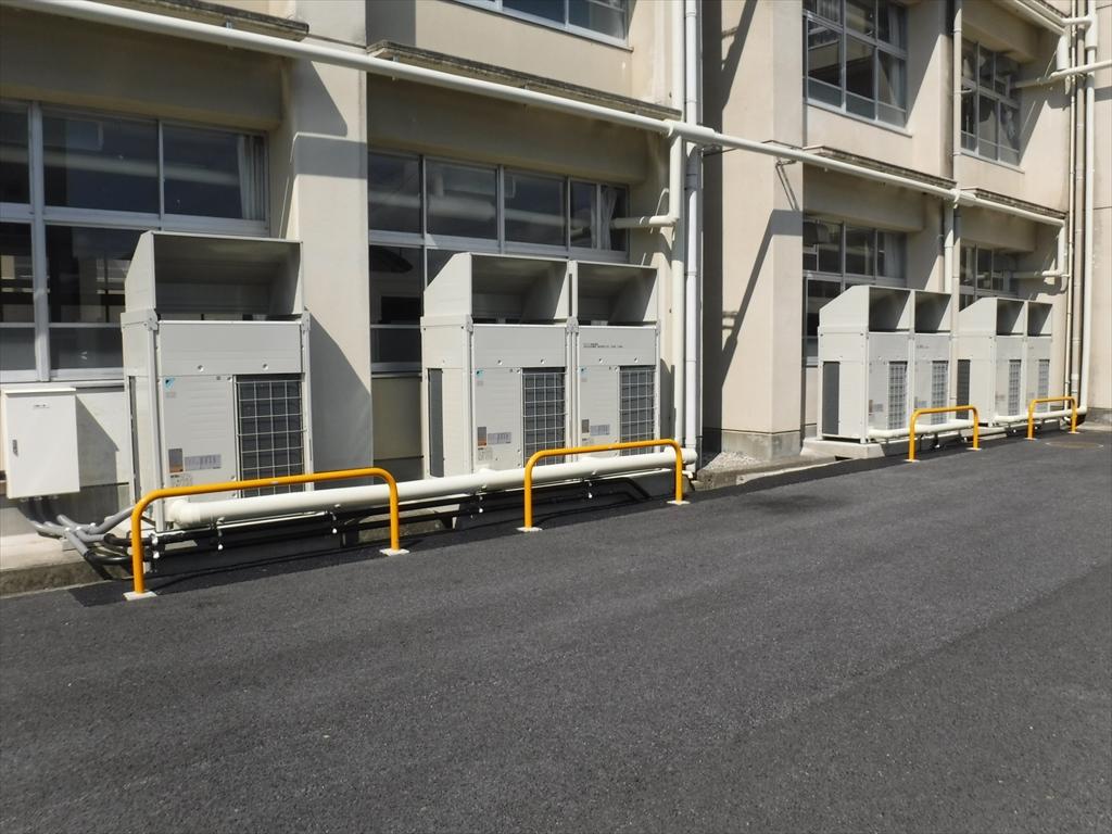 彦根翔西館高等学校 空調設備整備およびサービス提供 画像03