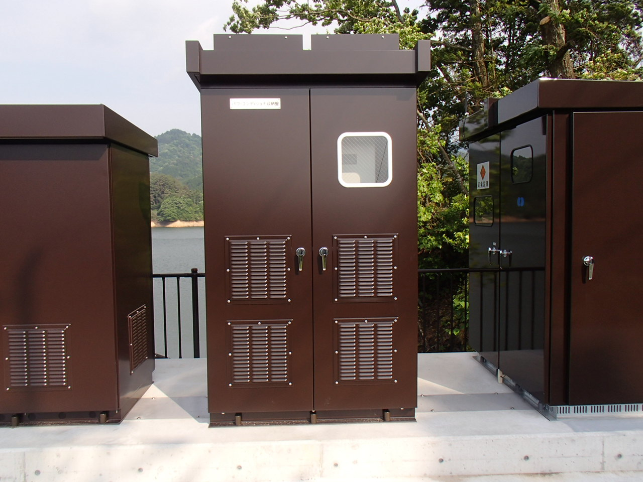 大原貯水池地区太陽光発電施設整備工事 画像03