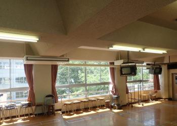 近江八幡市小中学校特別教室空調機設置工事