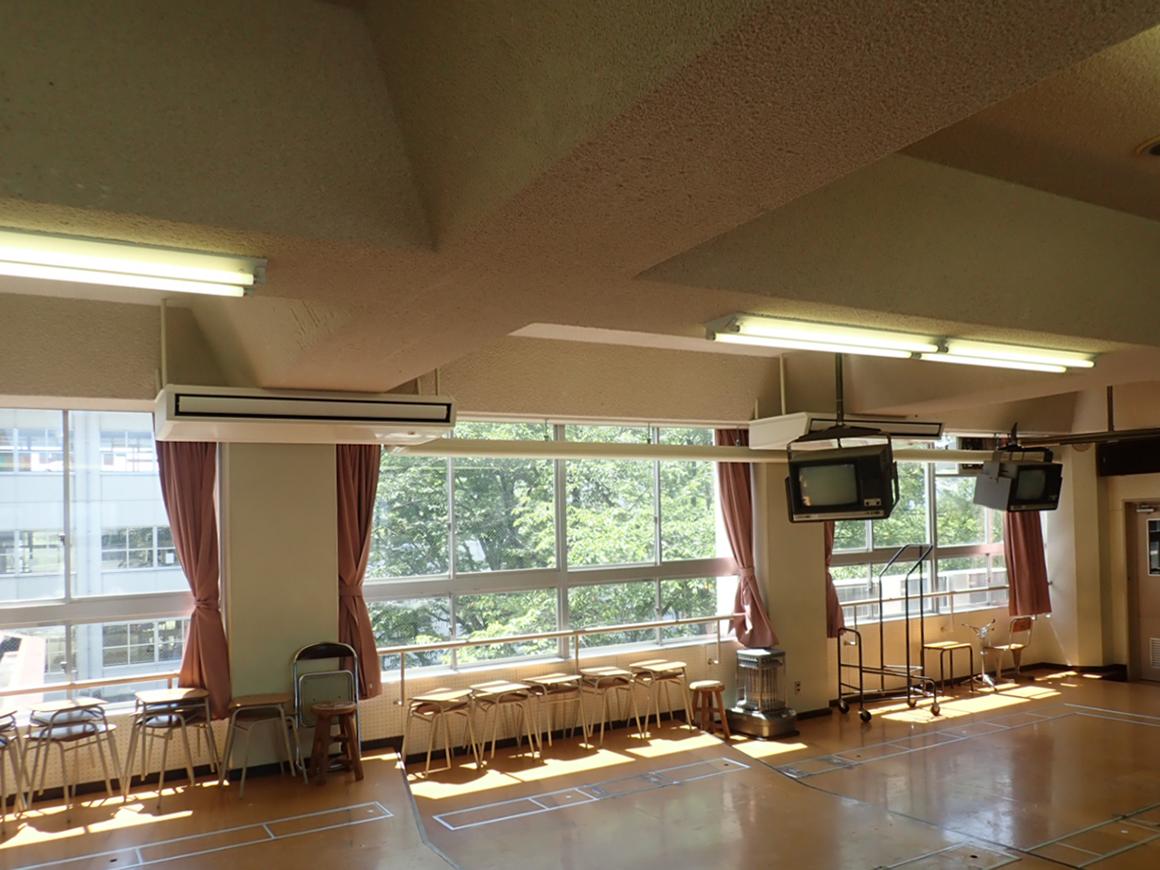 近江八幡市小中学校特別教室空調機設置工事 画像01