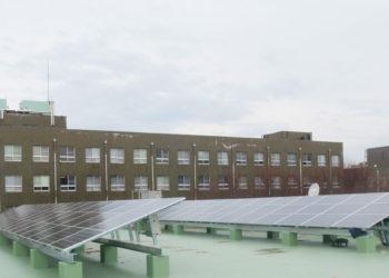 滋賀大学太陽光発電設備工事