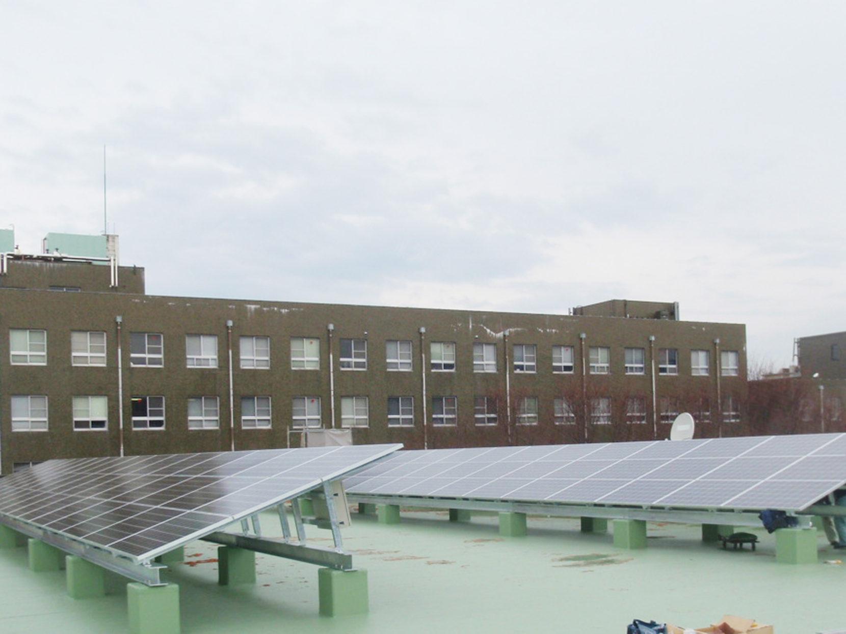 滋賀大学太陽光発電設備工事 画像01