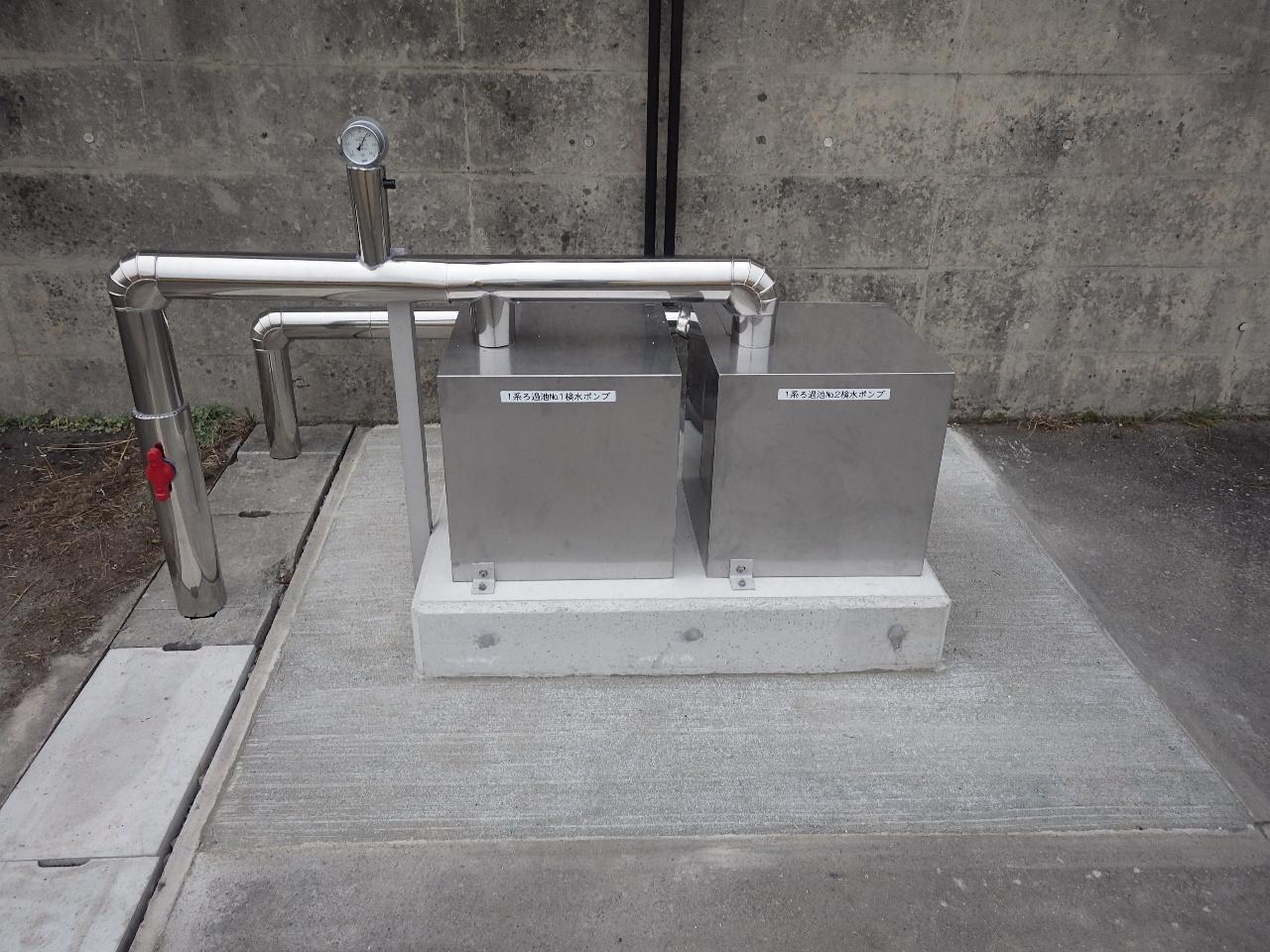 吉川浄水場等水質計器更新工事 画像04