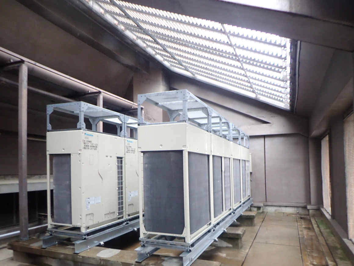 滋賀県立大学人間文化学部棟他空調設備改修工事 画像02