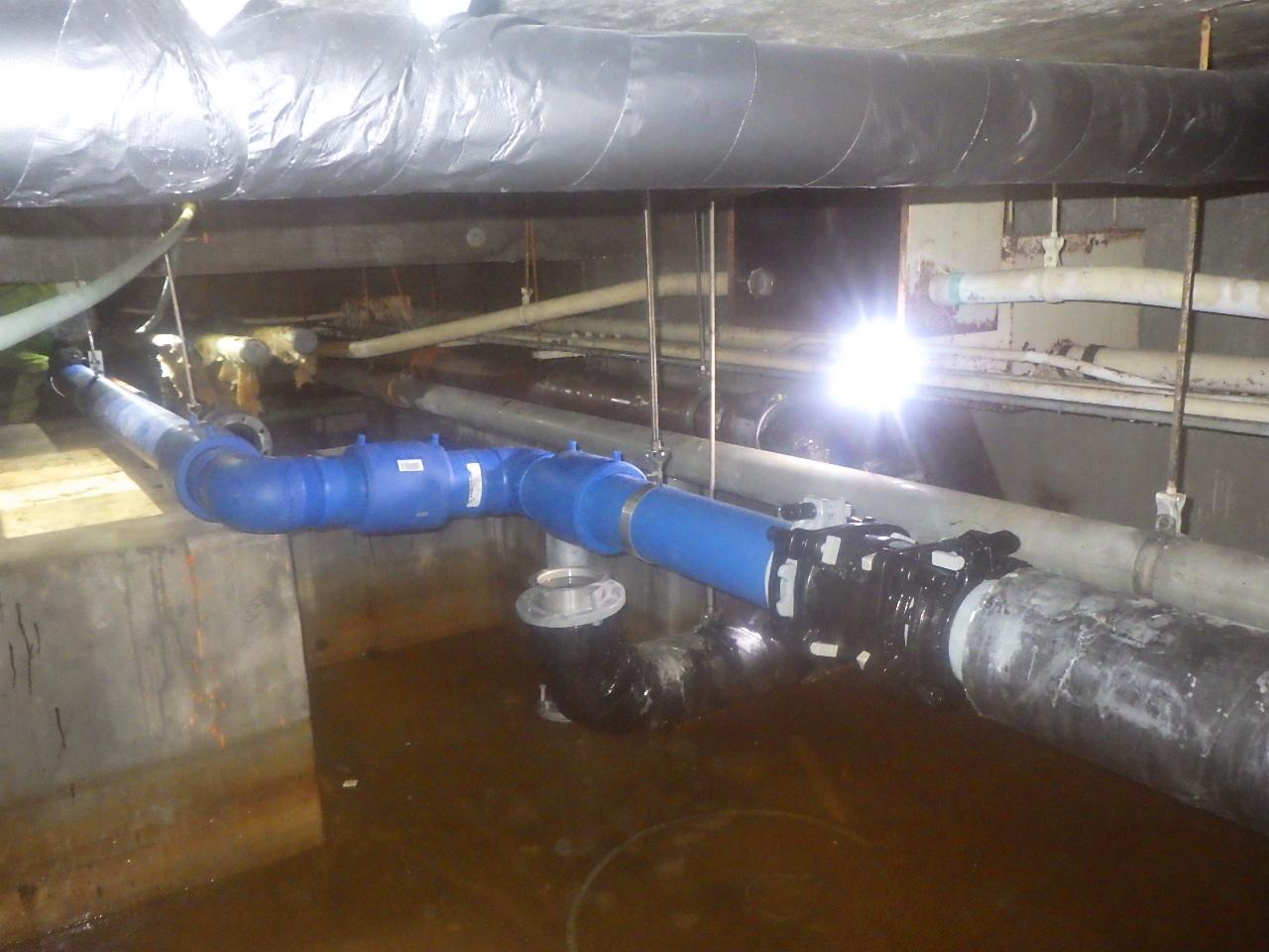 滋賀大学(彦根)基幹整備(給排水設備等)工事 画像02