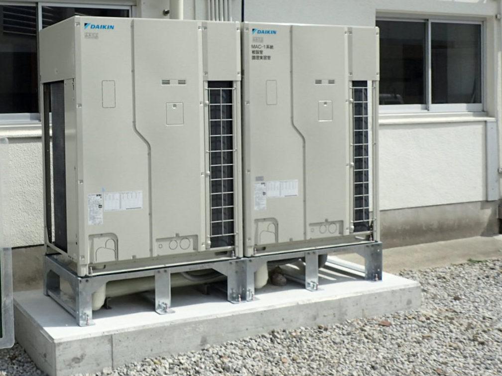 滋賀県立学校空調設備整備およびサービス提供(3校) 画像04