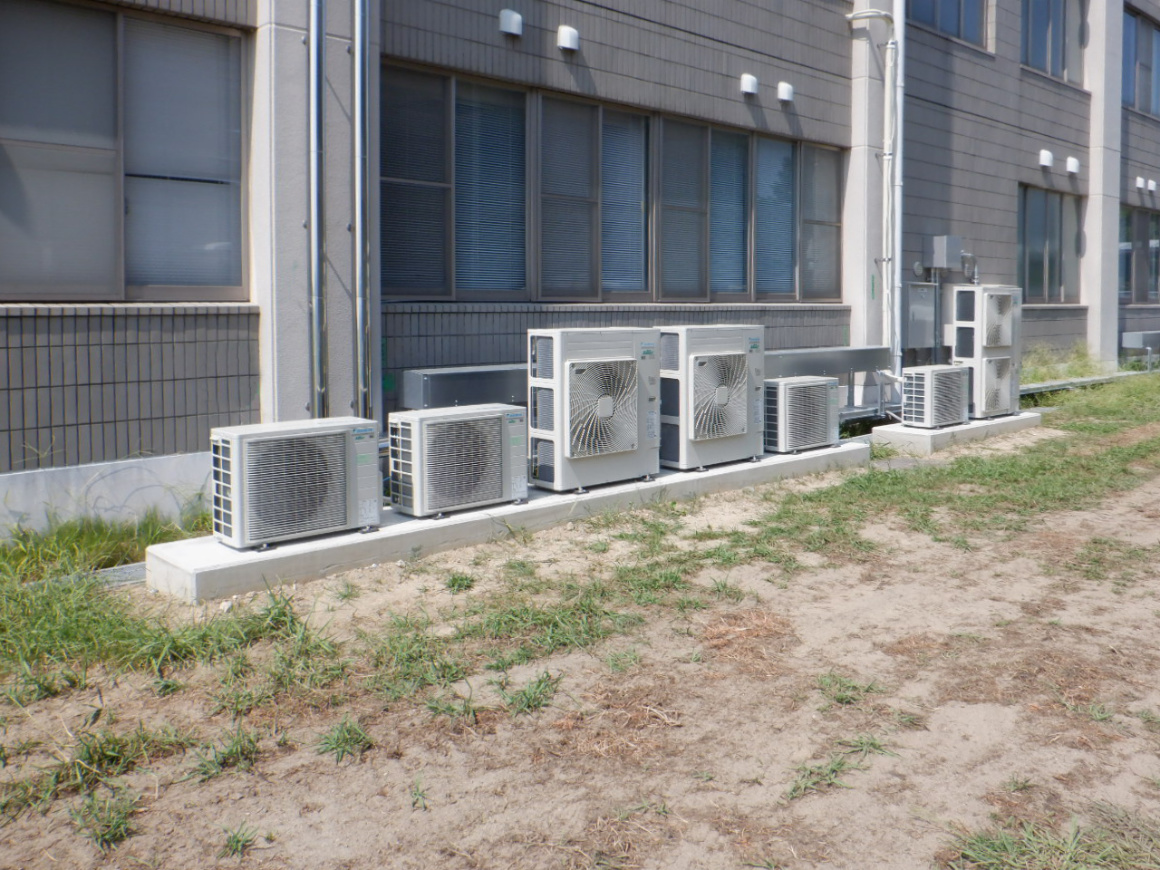 滋賀職業能力開発短期大学校本館A棟空調設備等改修工事 画像03
