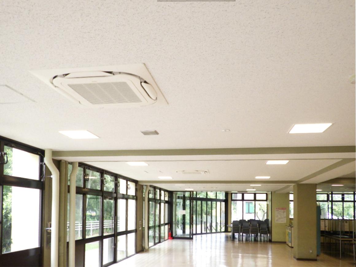 滋賀大学(石山)福利施設空調設備改修その他工事 画像01